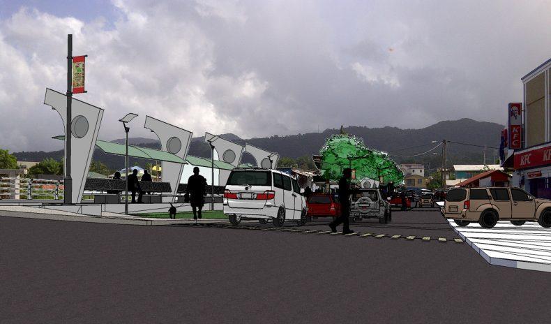 Roseau River Promenade Project
